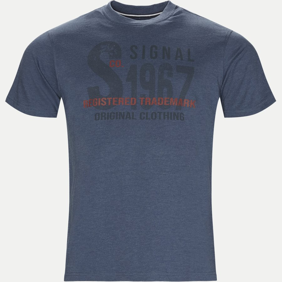 COOPER LOGO - Cooper Logo T-shirt - T-shirts - Regular - DENIM MELANGE - 1